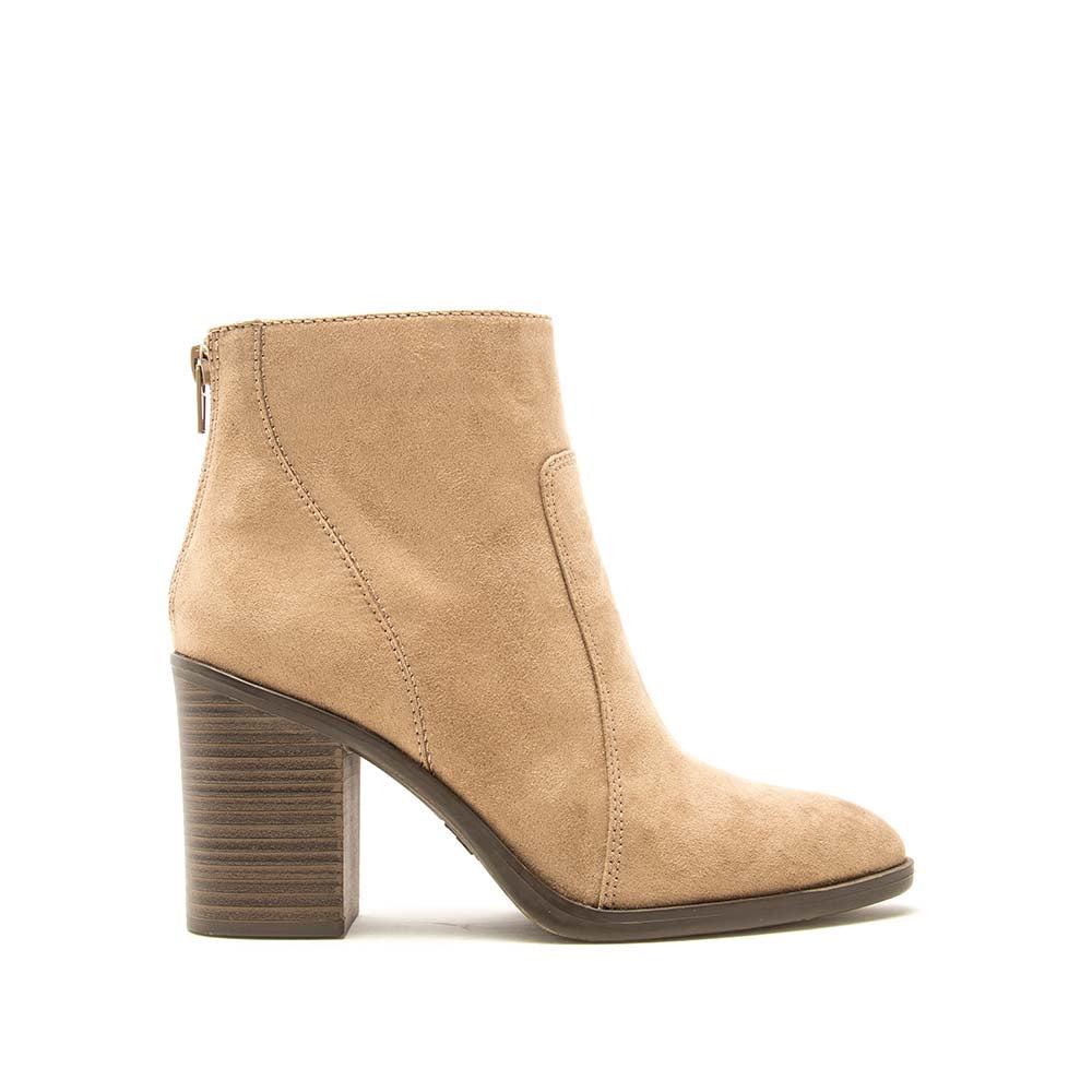 Snatch-01 Taupe Western Booties