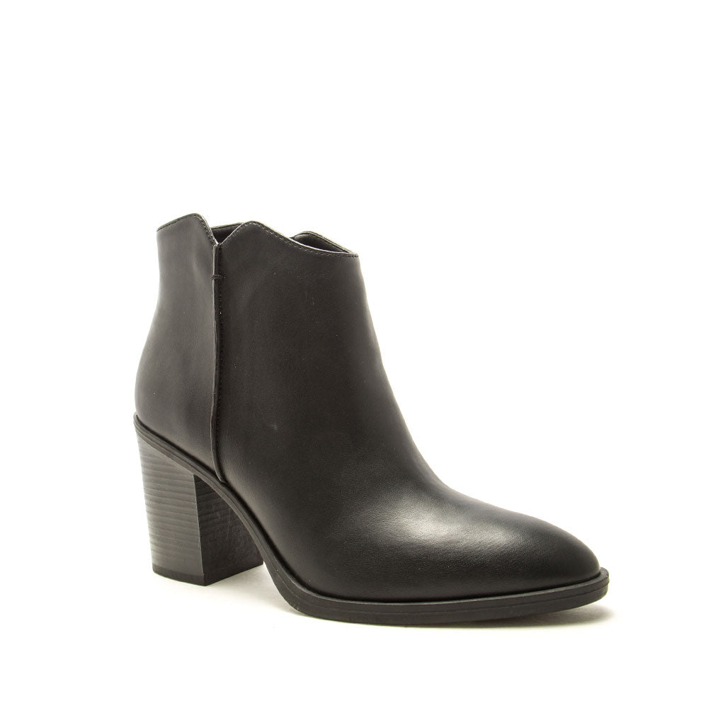 Snatch-19 Black Booties