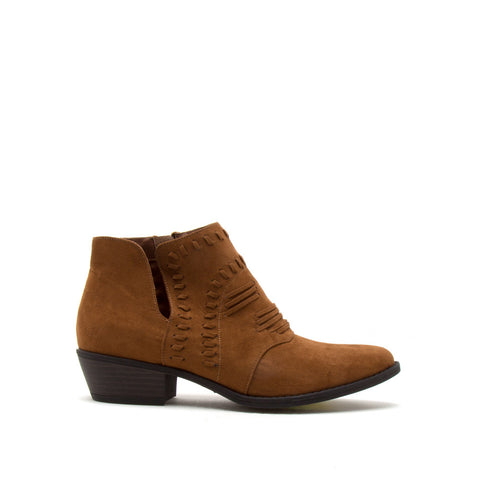 Sochi-152 Maple Whipstitch Ankle Bootie
