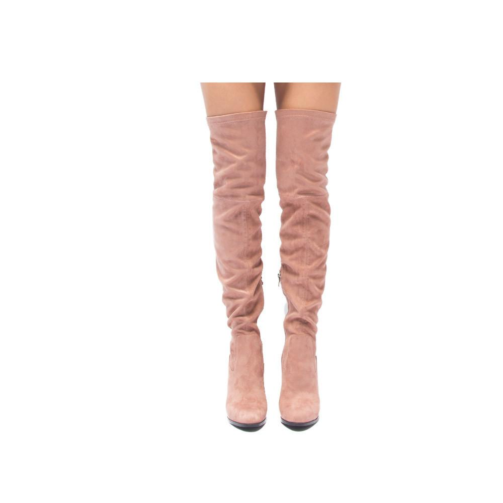 SUNBURST-01 Mauve Knee High Boot