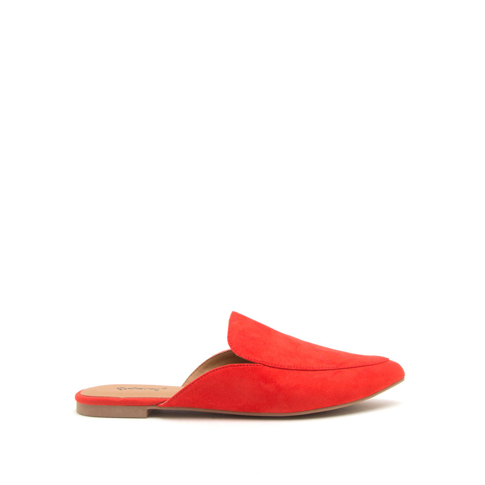 Swirl-135 Blood Orange Slide In Mule