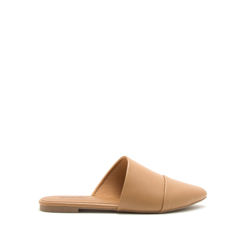 Swirl-210 Butterscotch Mule Ballerinas