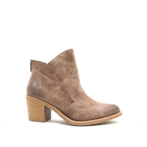 TOBIN-13 Taupe Everyday Boho Booties