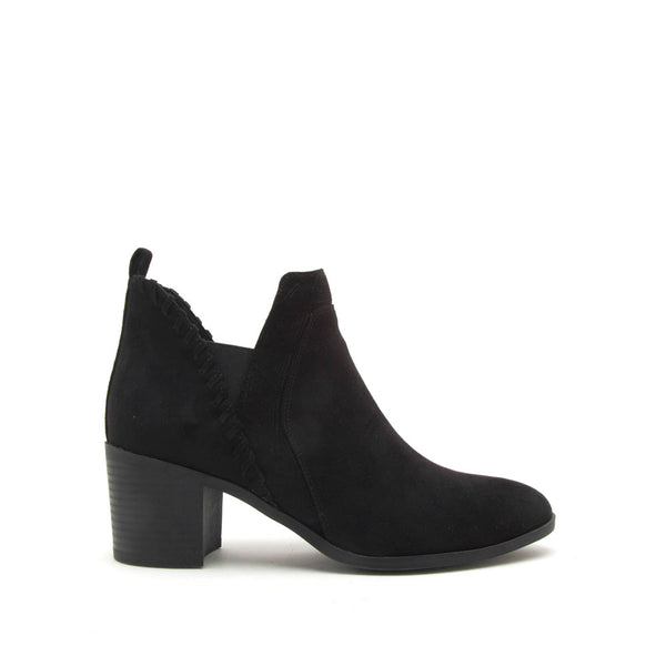 Topanga-40 Black Closed Toe Booties