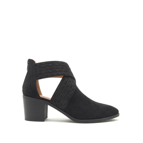 Topanga-45XX Black X Band Booties