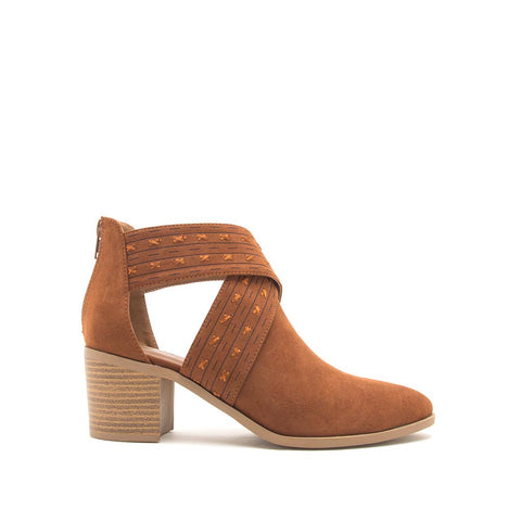 Topanga-45XX Chestnut X Band Booties