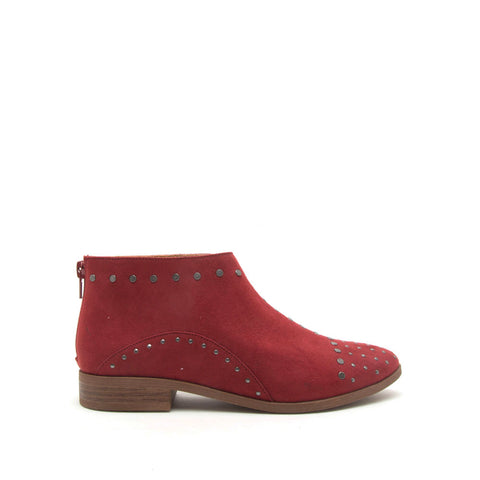 Tuxedo-115X Adobe Red Studded Bootie