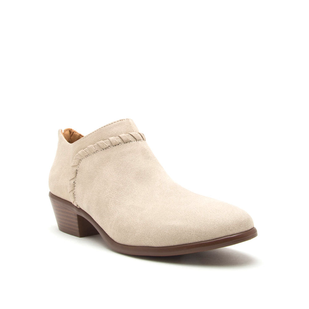 Weekend-38 Stone Distressed Bootie