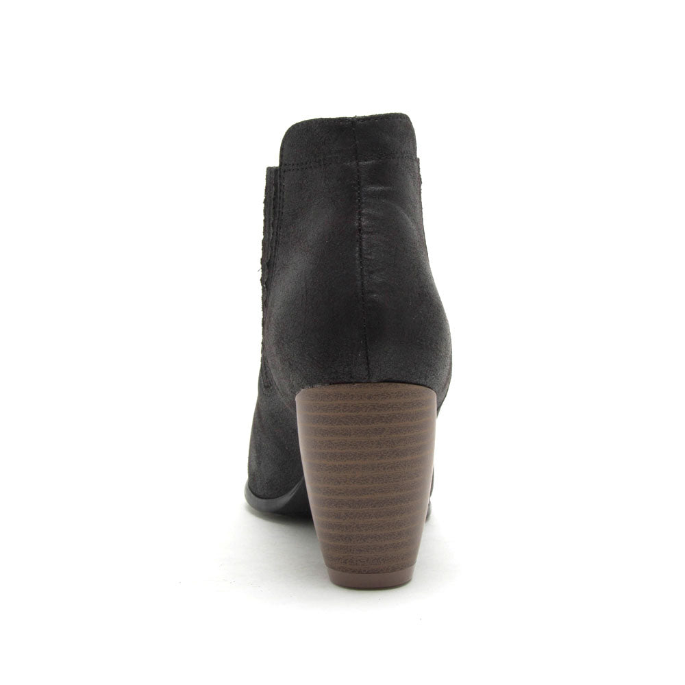Zillion-03 Black Chelsea Bootie