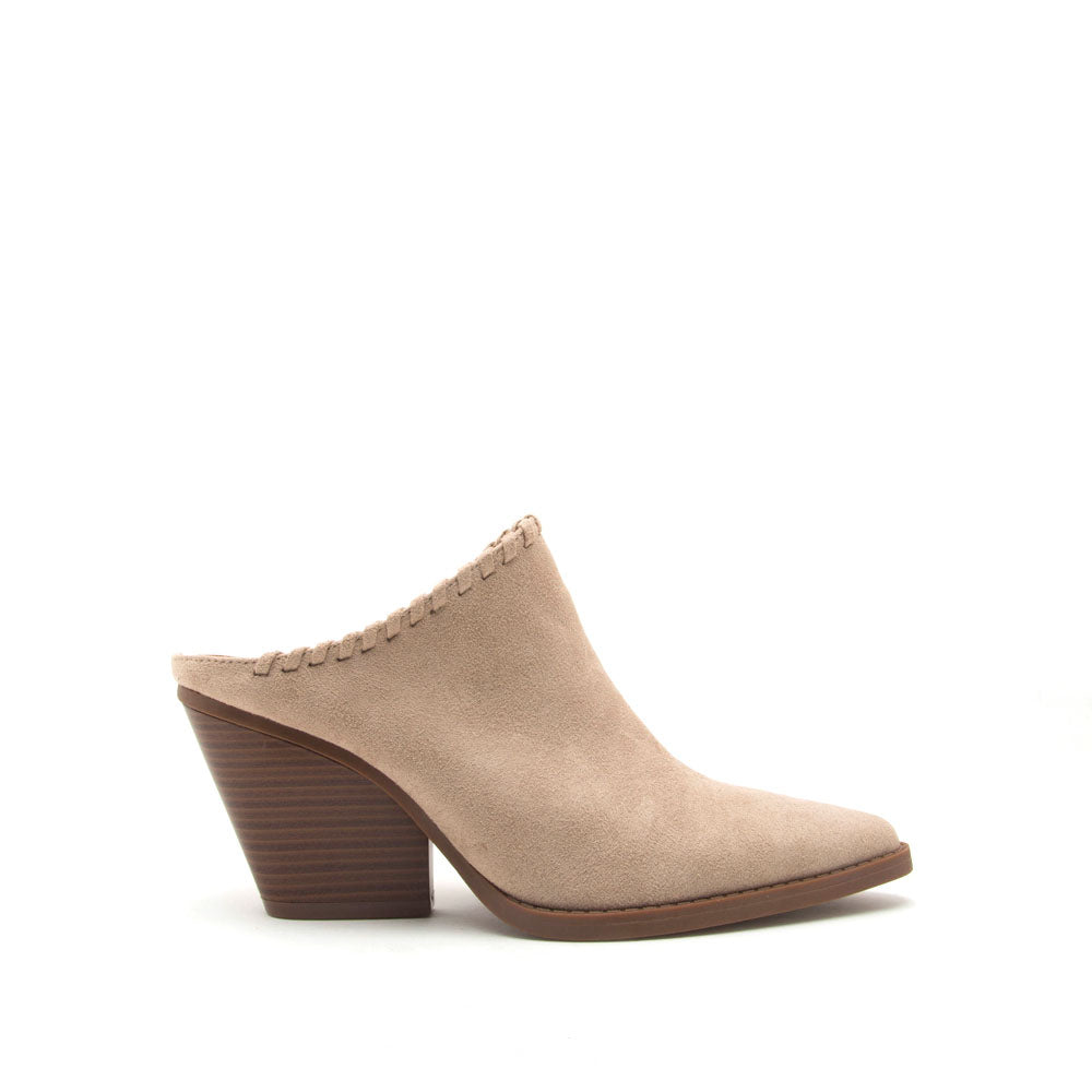 Zooey-02XX Light Taupe Mule Sandals