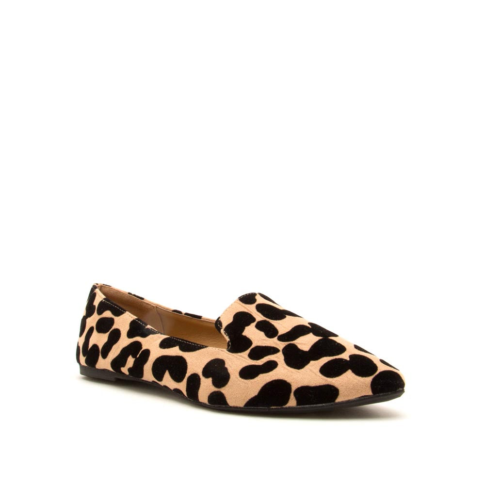 Zoom-03 Tan Black Leopard Ballerina