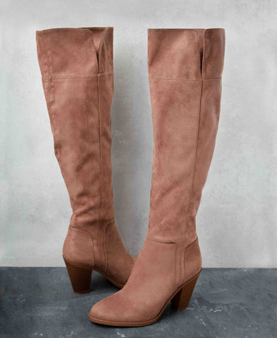 Prism-15 Nutmeg Tall Boots