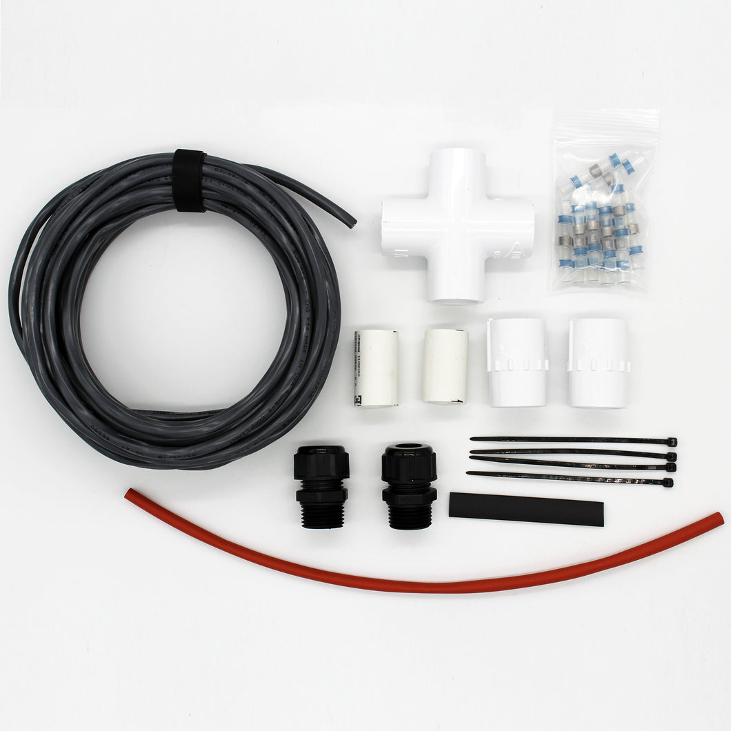 7.6 Meter (25') Tether Kit (suitable for Angelfish and Pufferfish ROVs)