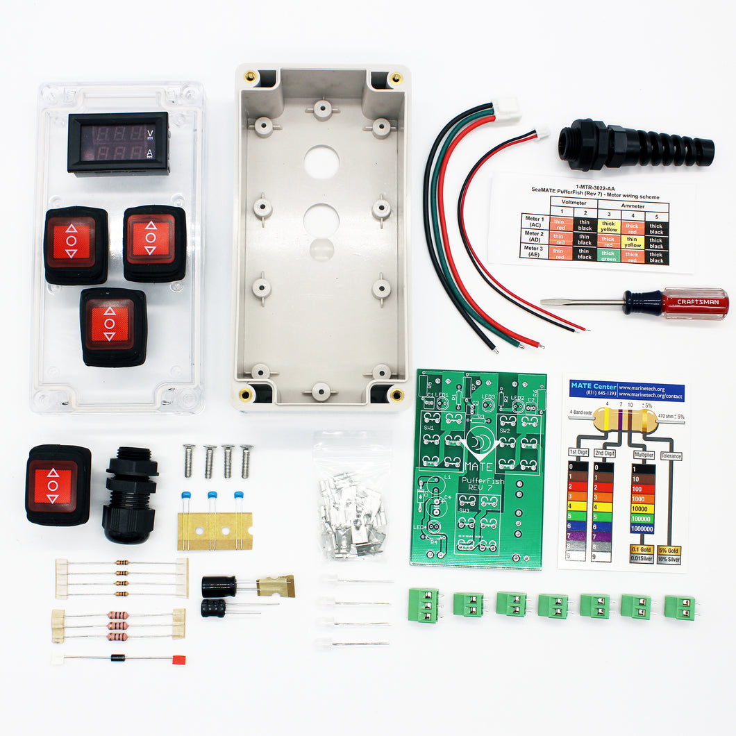 Pufferfish ROV Control Box Kit