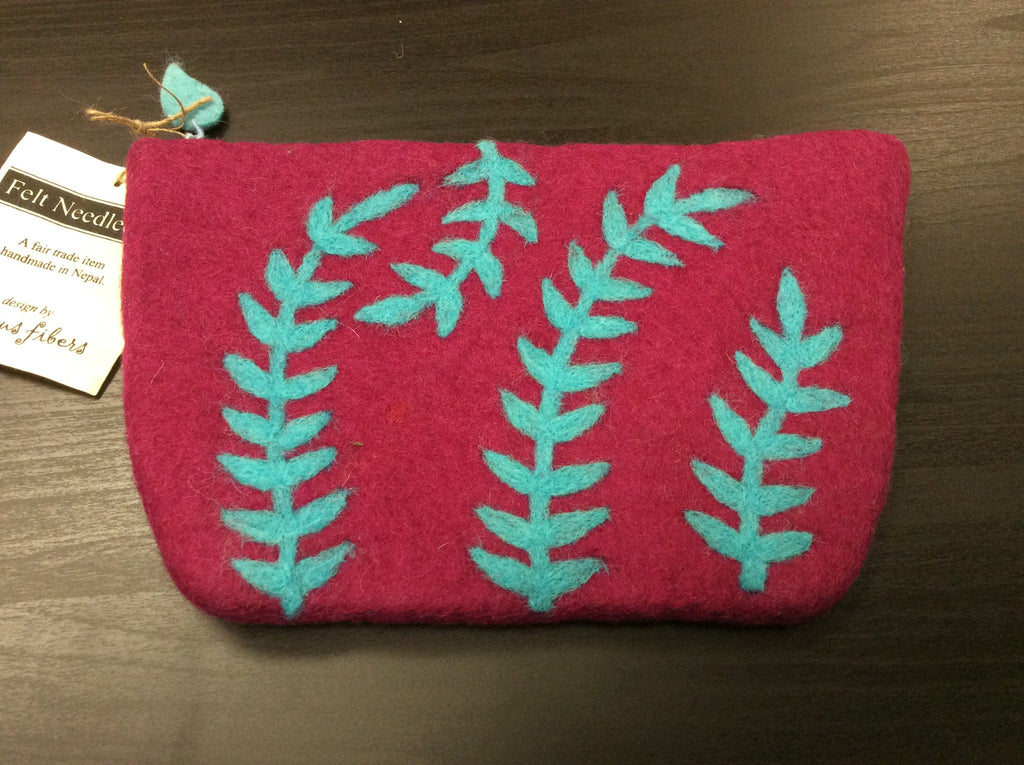 Seagrass Felted Bag