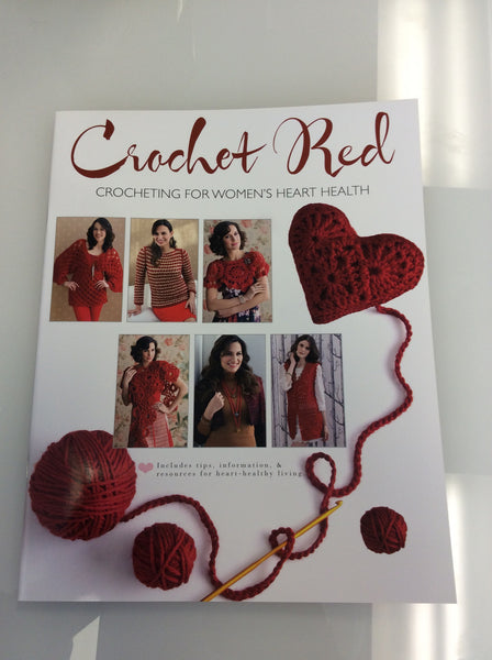 Crochet Red Booklet