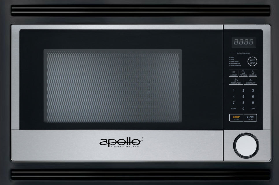 Apollo worldwide sales for Built in microwave oven 24 inch