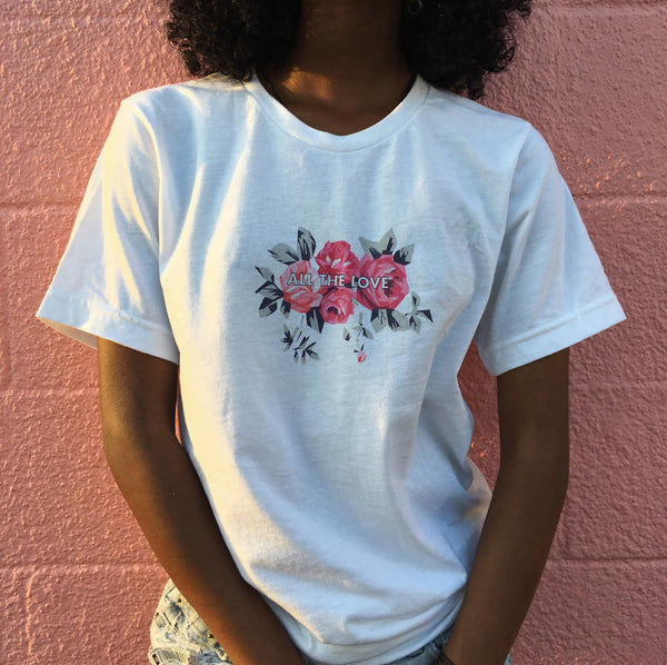 All The Love Tee & Crop