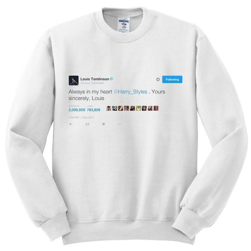 AIMH 2M RT Tweet Crewneck (Preorder) - 1950 Collective LLC