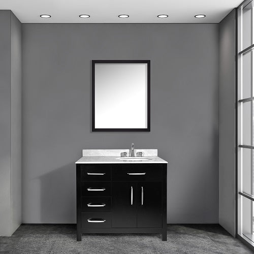 Annie 36 Inch Black Bathroom Vanity - Coming in September