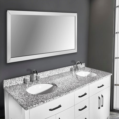 Kate 60 Inch White Bathroom Vanity - Coming in September