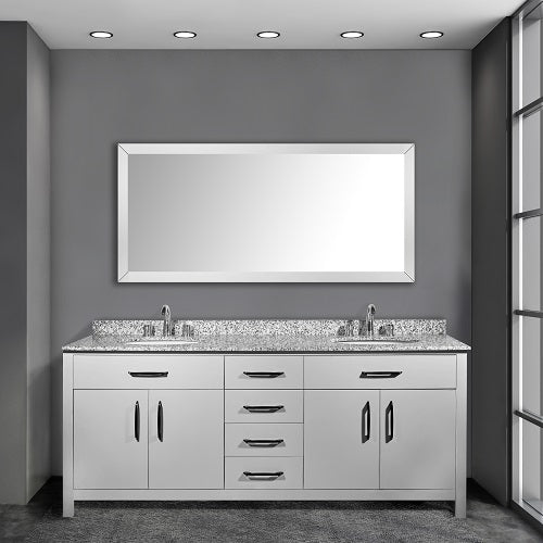 Joseph 72 Inch Grey Bathroom Vanity - Coming in September