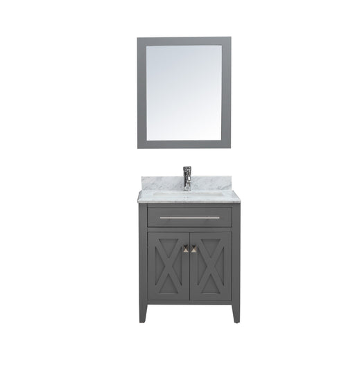 Elizabeth- 30 inch Traditional Freestanding Bathroom Vanity w/ Marble Top
