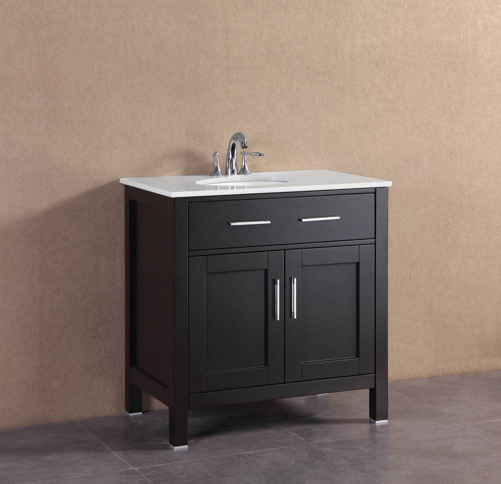 Ralph 32 inch modern espresso freestanding bathroom - Bathroom vanities 32 inches wide ...