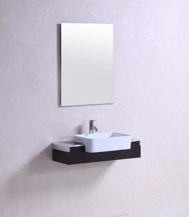 Wall Mounted Vessel Sink Vanity