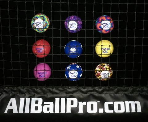 AllBallPro.com great gift idea with Swax Lax lacrosse training balls