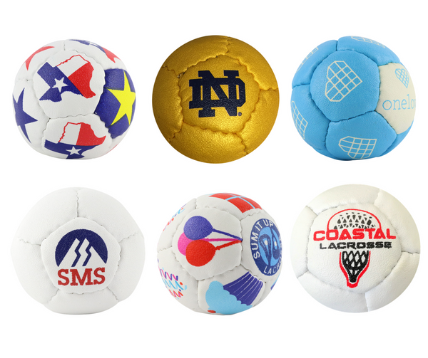 Get your own customized Swax Lax lacrosse training balls!