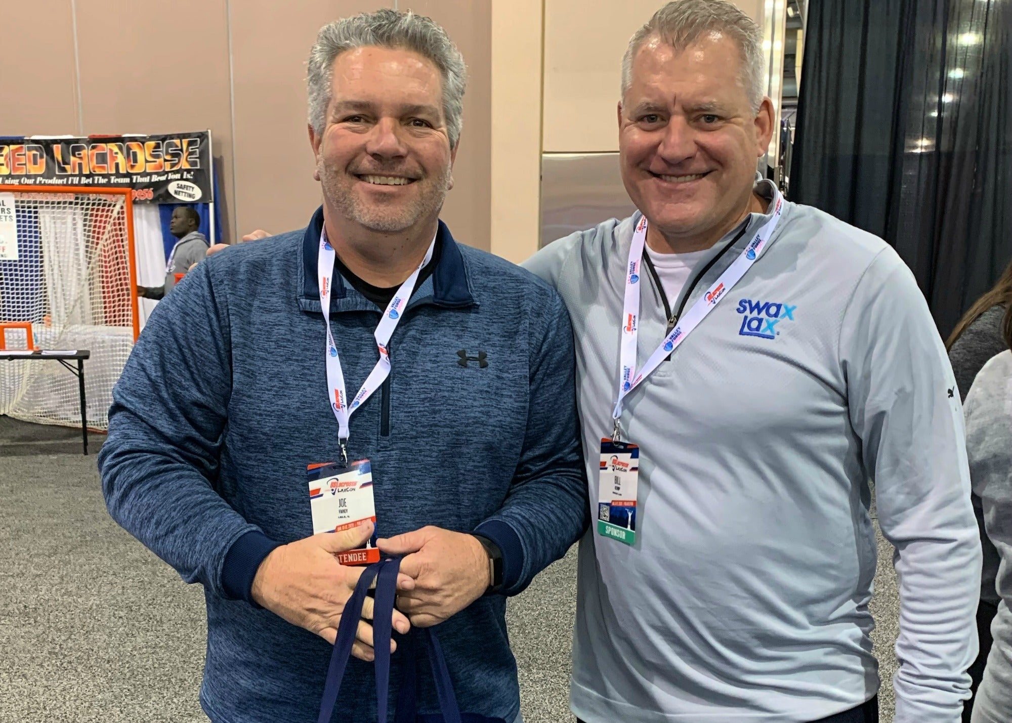 Joe - Friday 2020 winner of our Swax Lax LaxCon giveaway bundle