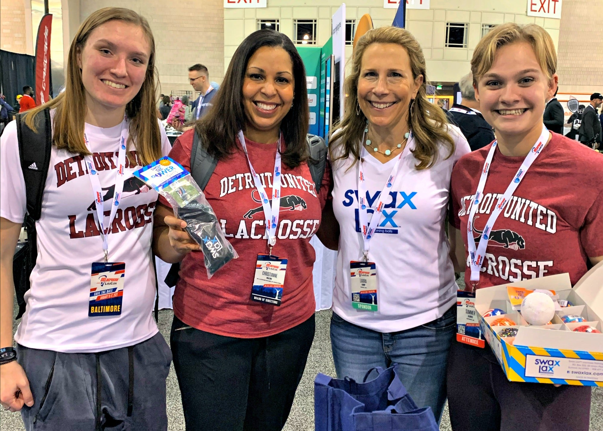 Christianne - winner of our Saturday 2020 LaxCon Swax Lax giveaway bundle