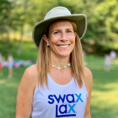 Laura Gump - founder and CEO of Swax Lax lacrosse training balls