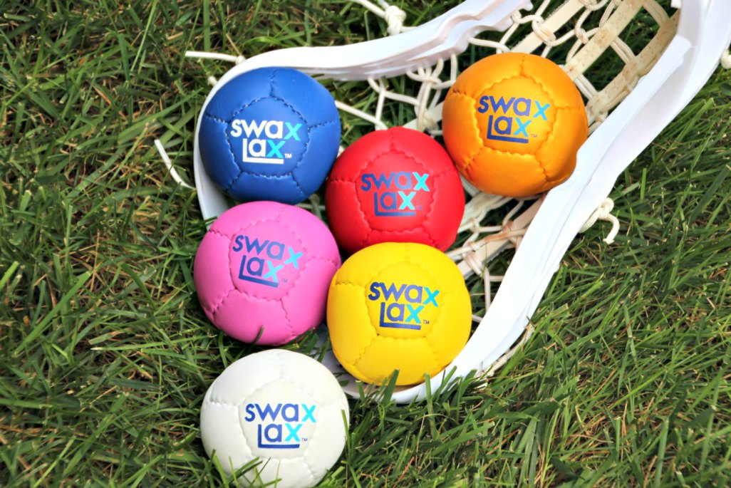 Swax Lax soft lacrosse training balls can be less painful than a hard lacrosse ball if you get hit