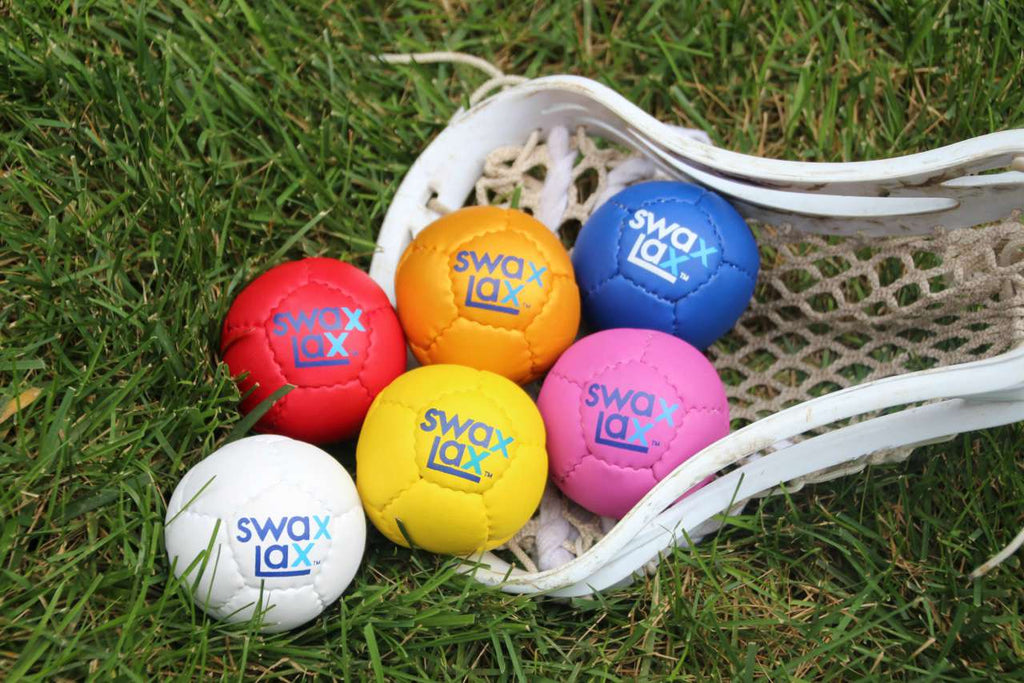 Swax Lax Lacrosse Training Balls in Lacrosse Stick