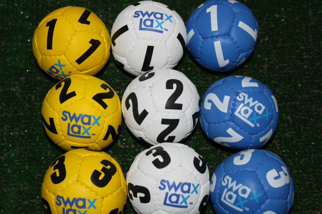 Swax Lax Lacrosse Training Balls for Goalies