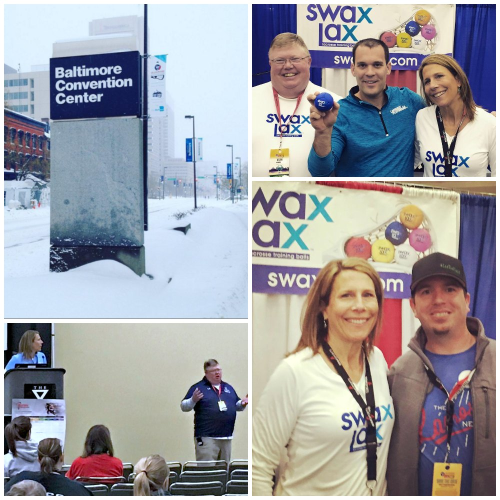Swax Lax at Lax Con 2016 | Laura Gump, Kevin Meany, Kevin Proctor, Doug of Lacrosse Playground