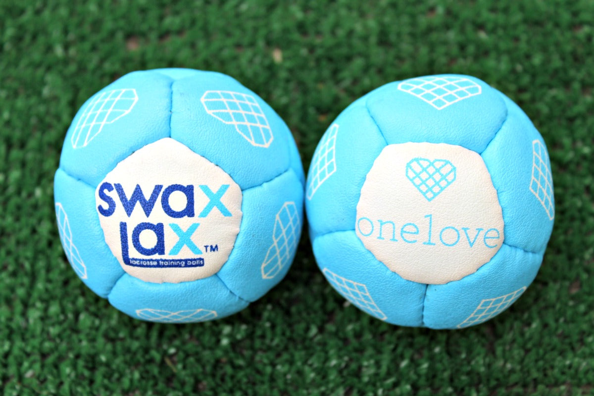 Swax Lax and One Love Partner with Limited Edition lacrosse training ball