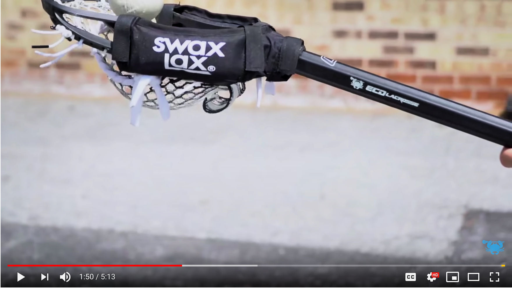 Swax Lax Power Weights reviewed by ECD Lacrosse - a big fan of weighted devices