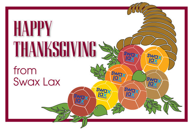 Happy Thanksgiving from Swax Lax Lacrosse Training Balls