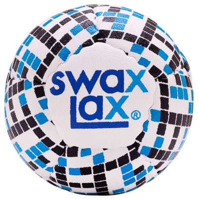 Black and Blue Diamonds Swax Lax Lacrosse Practice Ball