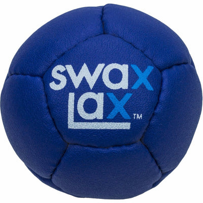 Blue Swax Lax lacrosse training ball