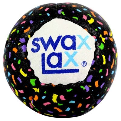 Swax Lax lacrosse training ball - confetti pattern