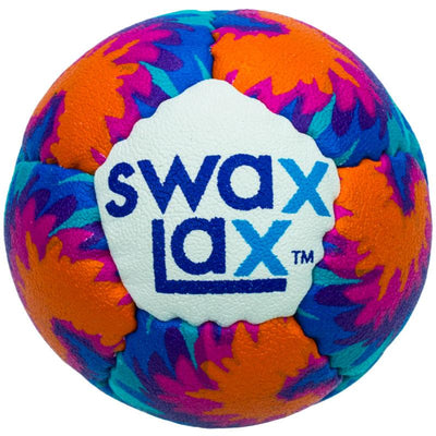 Swax Lax lacrosse training ball Maui pattern - front view