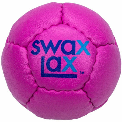 Swax Lax lacrosse training ball - plum pink