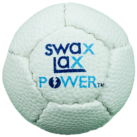 Swax Lax Power lacrosse training ball - front
