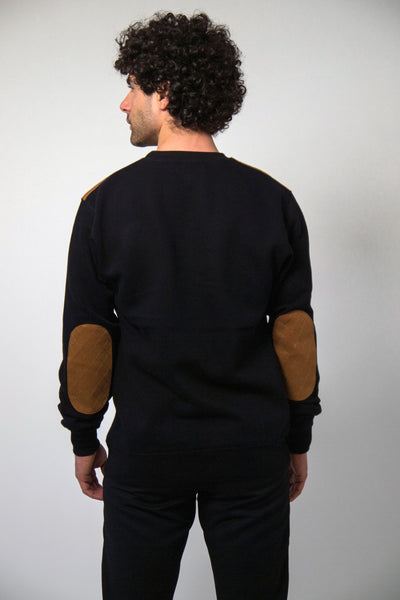 Patched Sweatshirt