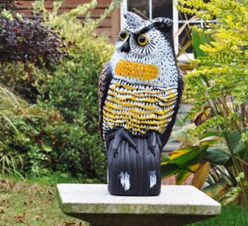 Garden Defense Owl - Predator Decoy Bird Scare