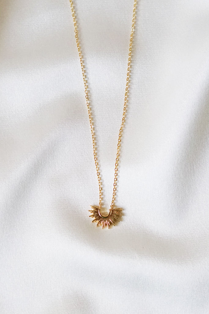 Gold Sunrise Necklace